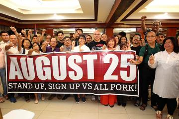 Another anti-pork rally set on August 25