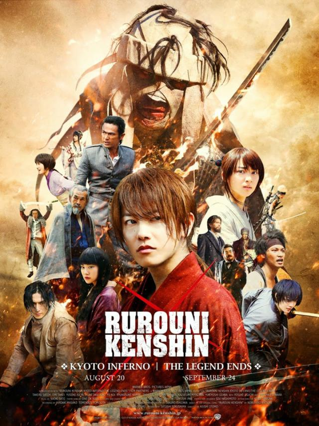 movie review rurouni kenshin kyoto inferno is a live action