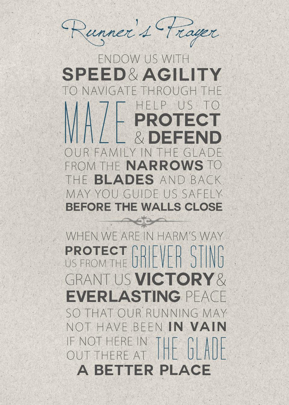 glade maze runner