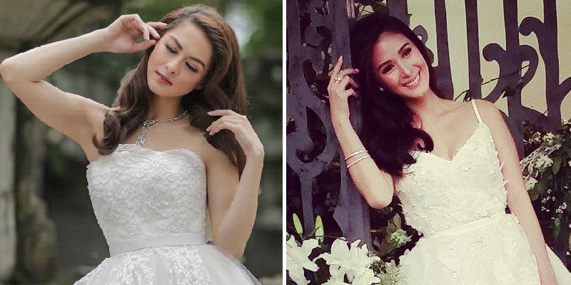 LOOK: Brides-to-be Marian Rivera, Heart Evangelista pose ...