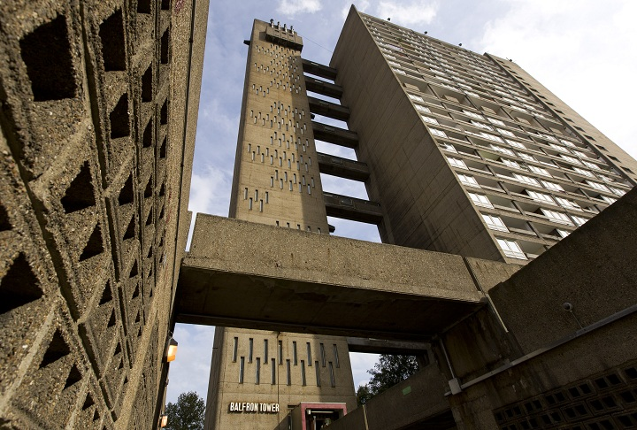 London tower block tours give 'Brutalism' a closer look ...