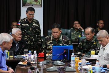 AFP, Defense officials monitor great escape
