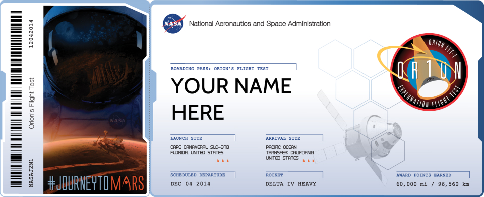 ticket to mars space flight - photo #1
