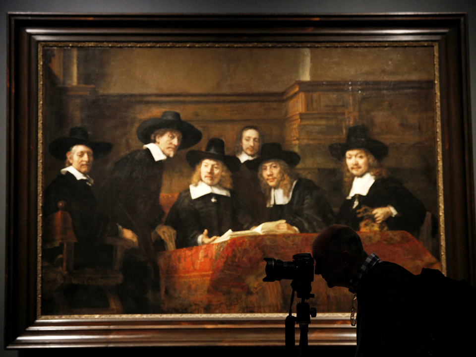 Innovative, energetic: Rembrandt\'s later works on show in London ...