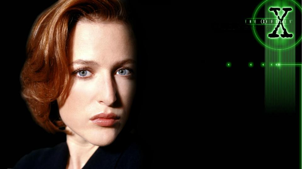 Gillian Anderson x files movie
