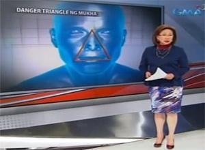 WATCH: 'Danger Triangle:' Ang bahagi ng mukha na delikadong