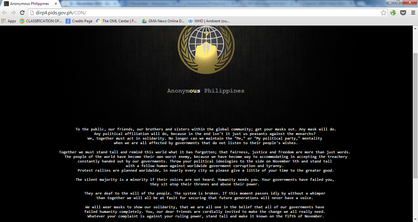 PHL government websites hacked in fresh round of attacks | SciTech