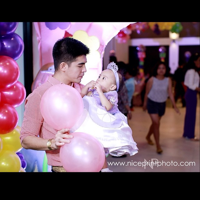 Mark Herras Throws Grand Celebration For Daughter S First