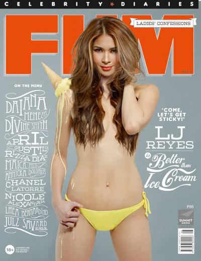 lj reyes almost nude naked cleavage bikini pics jav idols pinay scandals etc