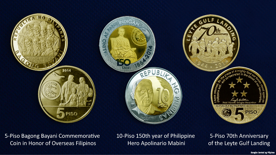 BSP Issues Commemorative Coins To Honor Pinoy Heroes