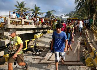 Infra damage from Ruby nears P2B