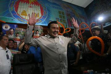 Erap jubilant over SC junking of disqualification petition