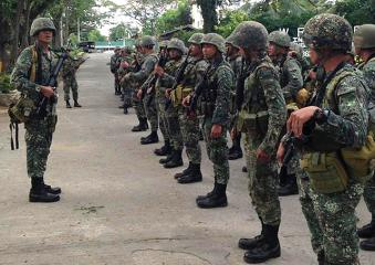 AFP: Marine deployment in Maguindanao not related to Mamasapano clash
