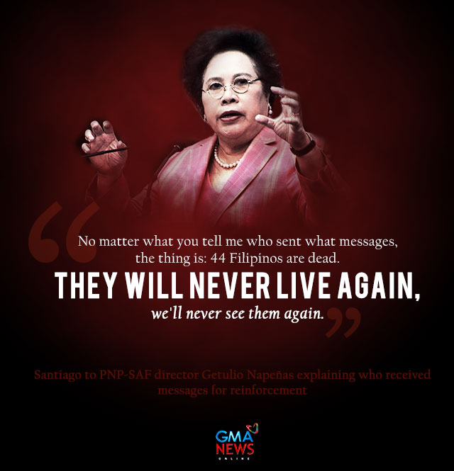 Miriam Defensor Santiago Quotes: Miriam At The Mamasapano Inquiry: 'Nothing Fails Like A