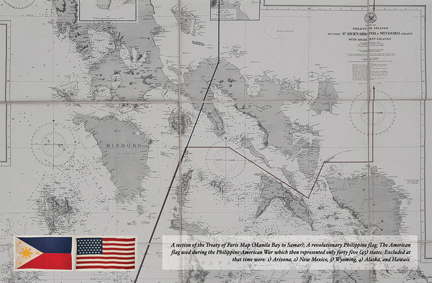 Yuchengco Museum Highlights PhilippineAmerican War In Special - Treaty of paris map