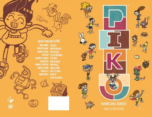 Piko' comics anthology for kids lets you choose your own