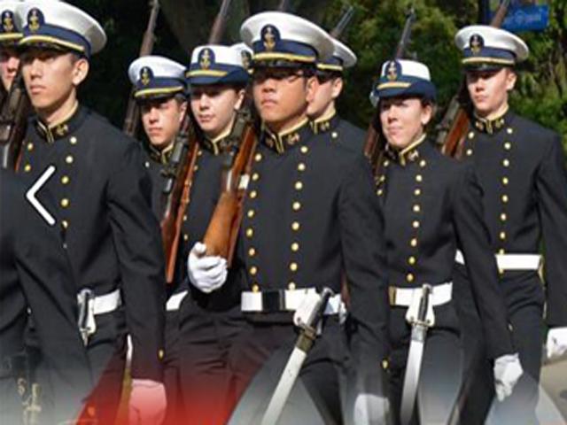 guard academy uniforms Coast