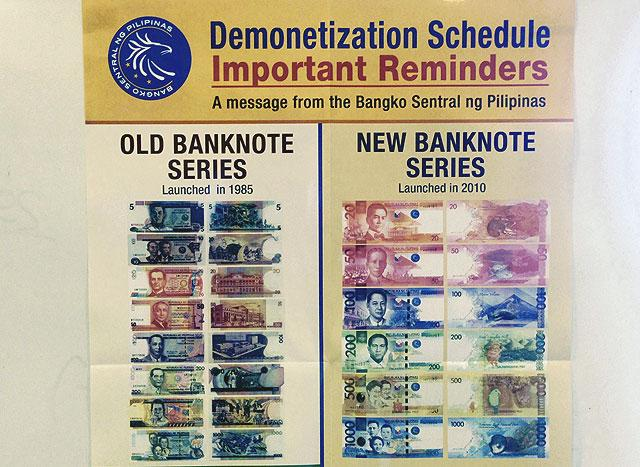 Last chance to swap old peso bills this week —BSP | Money