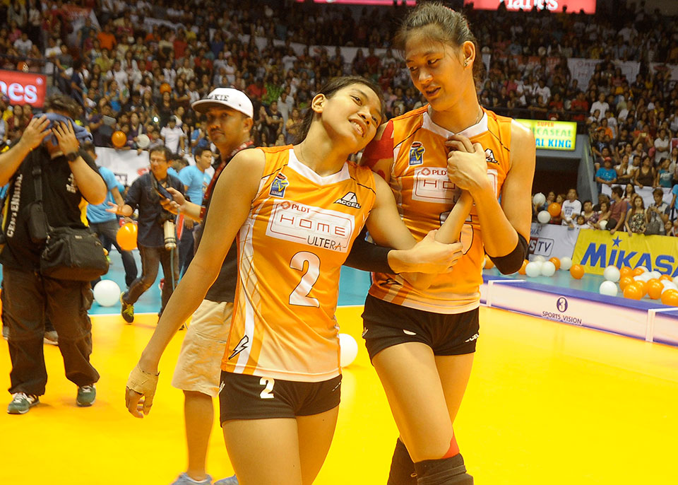 PHOTO GALLERY: PLDT defeats Army to win the V-League Open ...