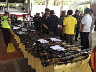MILF to turn over 75 firearms to govt