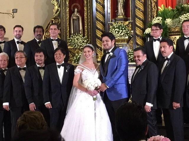 Look Annabelle Rama And Eddie Gutierrez Son Weds Former