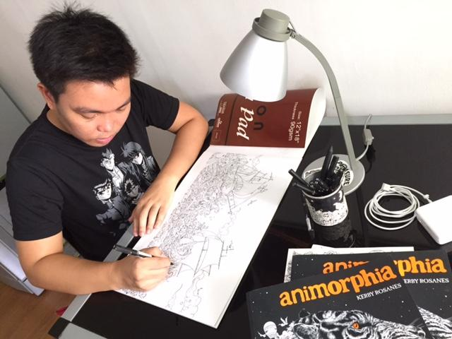 More Than Doodles The Intricately Detailed Art Of Kerby Rosanes