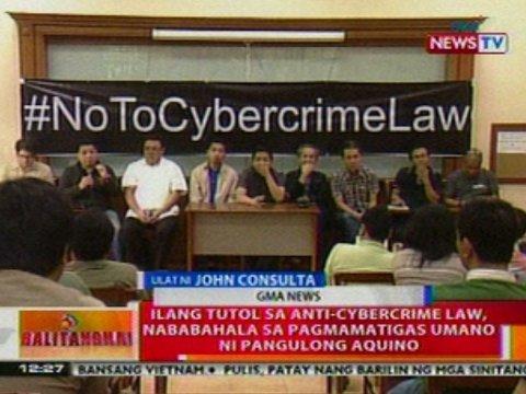 Kontrobersyal na Cybercrime Law