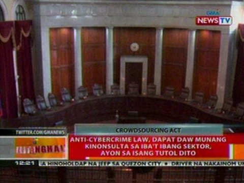 """Sen. Sotto accuses bloggers of payoffs & proposes an """"anti-blogging"""" bill"""