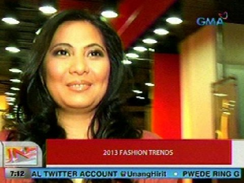 2013 fashion trends | Unang Balita | GMA News Online