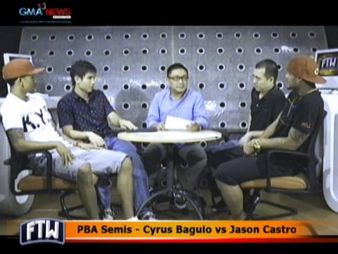Ftw Pba Semis Cyrus Baguio Vs Jason Castro Video