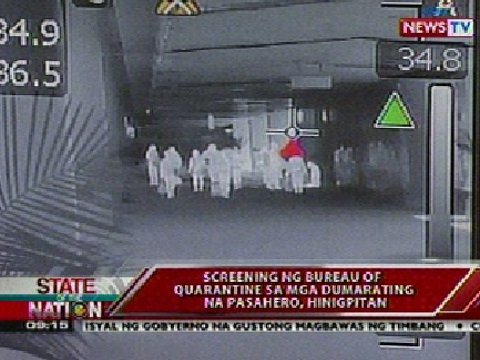 Screening ng bureau of quarantine sa mga dumarating na for Bureau quarantine philippines
