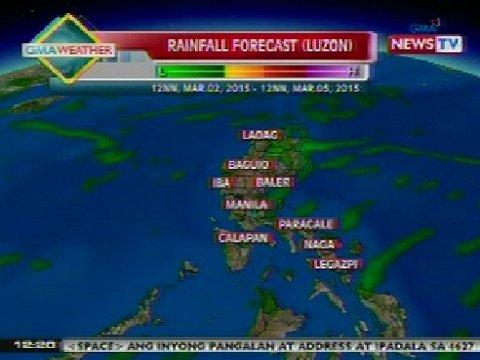 magdulot ng pag-ulan sa Luzon | Balitanghali | GMA News Online