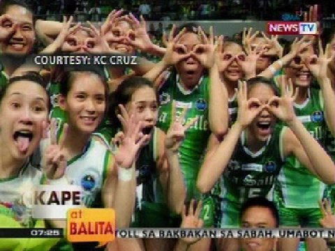 UAAP Season 75 women's volleyball finals | Kape at Balita | GMA News