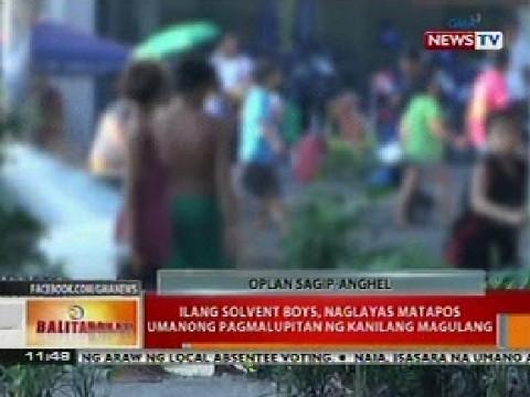 Balitanghali: Ilang solvent boys, naglayas nang pagmalupitan ng
