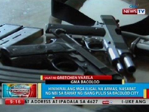 Download Hinihinalang mga iligal na armas, nasabat ng NBI sa bahay ng