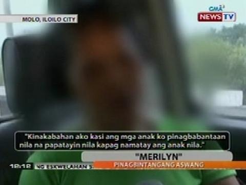 Balitanghali: Ginang na pinagbintangang aswang sa Iloilo, nagpa