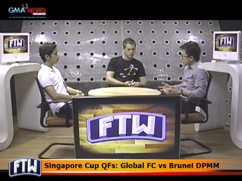 Ftw Singapore Cup Qfs Global Fc Vs Brunei Dpmm Video