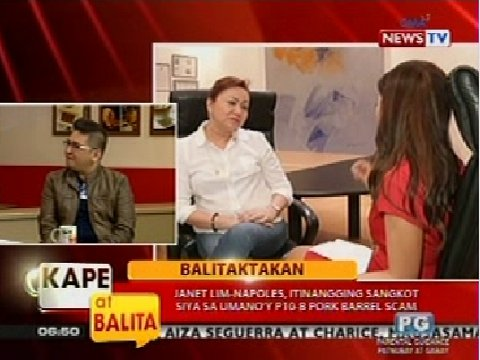 sa umano'y P10-B pork barrel scam | Kape at Balita | GMA News Online