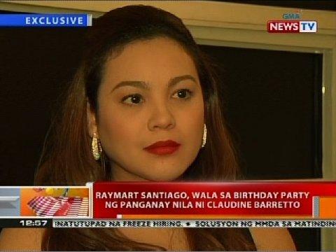 Claudine Barretto Daily News Update Raymart Santiago Kay