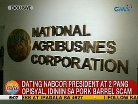 at 2 pang opisyal idiniin sa pork scam unang balita scrap the pork