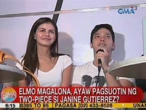 julie anne and elmo dating advice