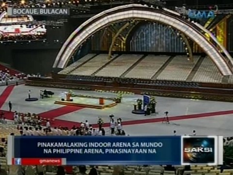Philippine Arena Inside Basketball Philippine Arena Open For Use