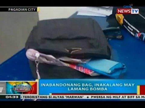 Hall, inakalang may lamang bomba   Balita Pilipinas   GMA News Online