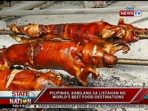 Pilipinas, kabilang sa listahan ng world's best food ...