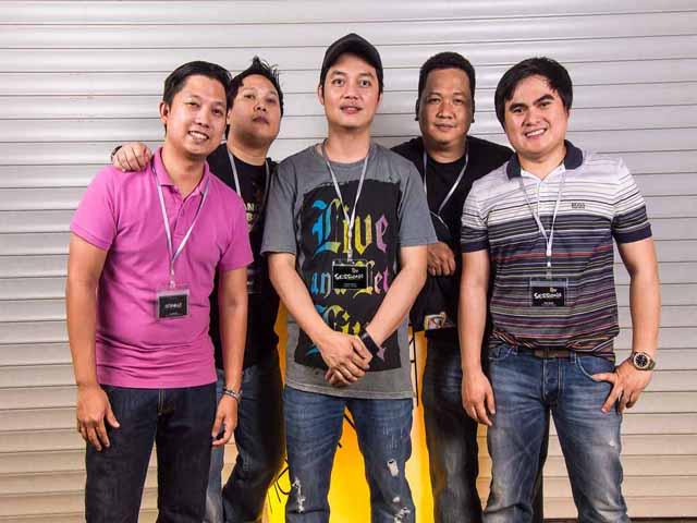 Ronald Galvez and friends