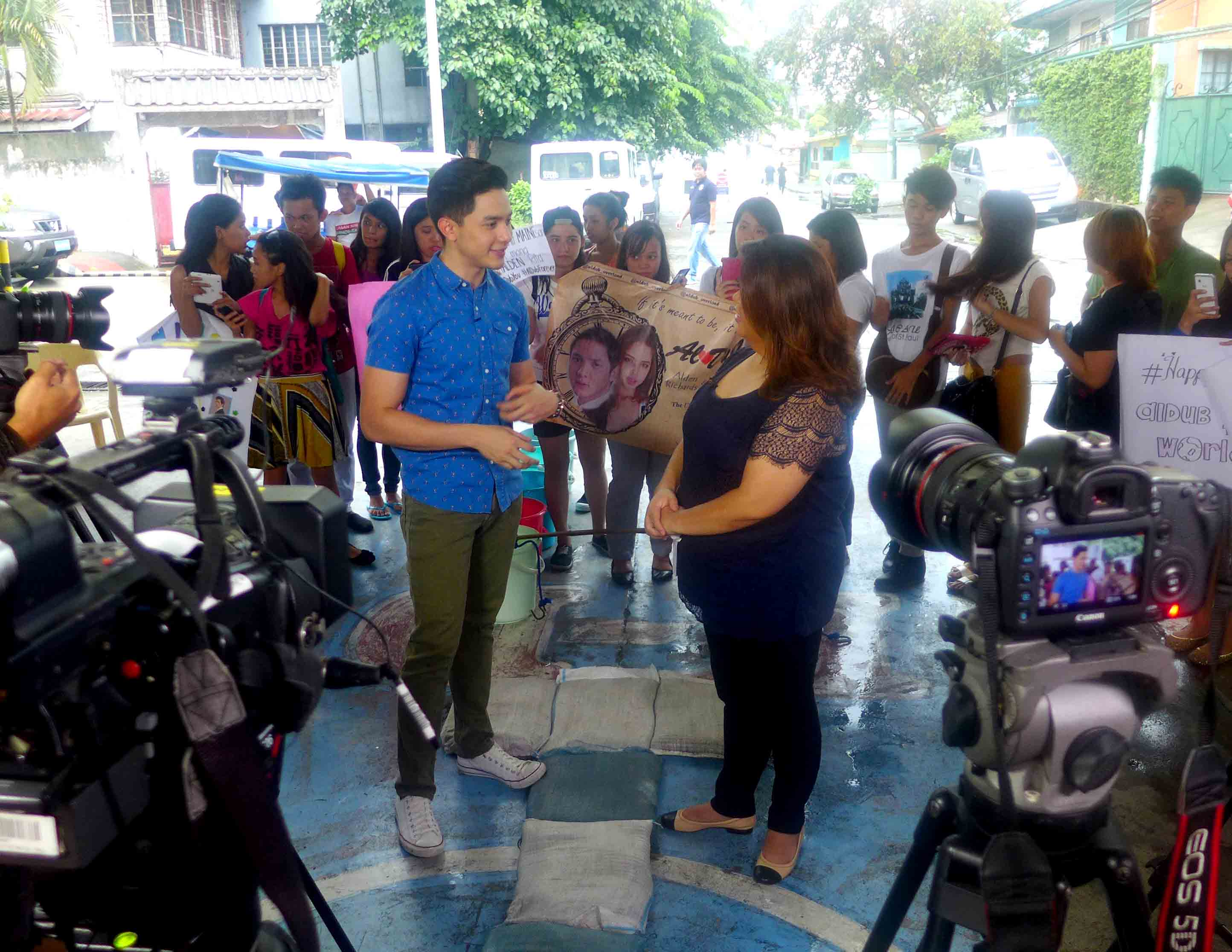 Up close and personal with 'Pambansang Bae' Alden Richards