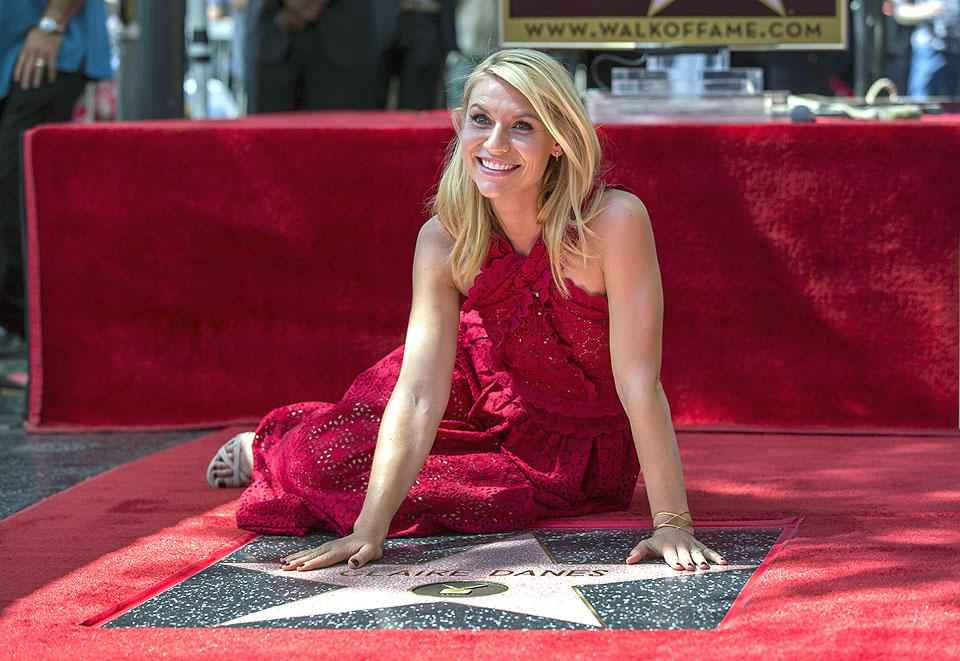 Claire Danes gets star on Hollywood 'Walk of Fame ... Claire Danes Philippines