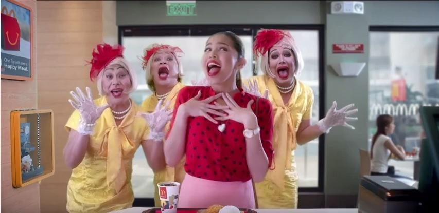 WATCH: AlDub's latest commercial for fastfood chain