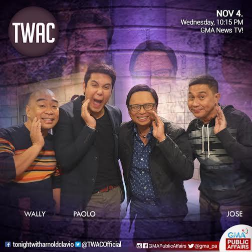 Gma Latest News Update: JoWaPao, Susugod-bahay Sa 'Tonight With Arnold Clavio