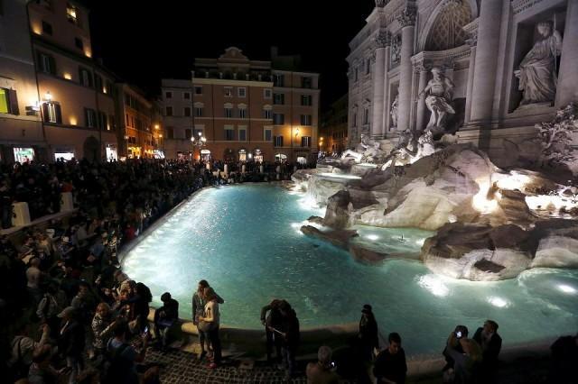 rome fontein trevi